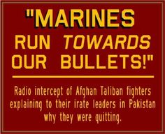 Marines run towards our bullets #usmc