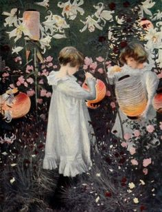 Carnation Lily, Lily Rose (Pink) Poster Print by J. Singer Sargent (18 x 24)
