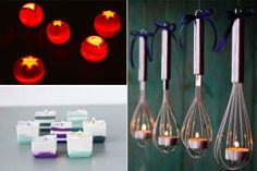 10 Ideas for original candle holders at home - Creatistic