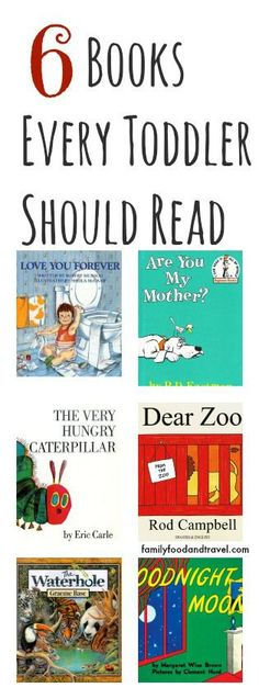 6 Books Every Toddler Should Read