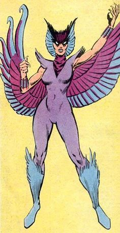 Deathbird (Pajaro de Muerte-Marvel) Comic Book Villains, Female Comic Characters, Comic Book Superheroes, Marvel Villains, Marvel Dc Comics, Comic Book Heroes, Marvel Heroes, Marvel Cards, Manga Anime