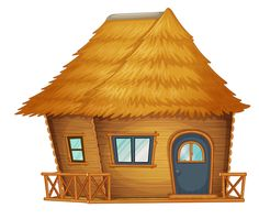 Find Hut Cabin On White Background stock images in HD and millions of other royalty-free stock photos, illustrations and vectors in the Shutterstock collection. Hut Images, Bahay Kubo, Kids Background, Boy Illustration, Three Little Pigs, Cute House, House Drawing, Types Of Houses, Illustrations And Posters