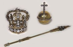 Regalia of Poland (1733; Crown, Orb, and Sceptre of Maria Josepha of Austria, Queen consort of King Augustus III).