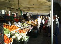 Street market in Ávila (Castilla y León)