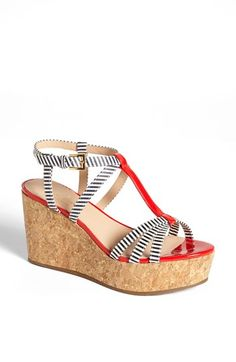 LOVE these wedge platforms