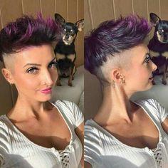 11 Farbenfrohe Frisuren, die glücklich machen!! Experimentiere mal mit verschiedenen Farben und Du wirst sehen, dass Du gleich fröhlicher aussiehst. Wirst Du auch glücklich von farbenfrohen Haaren?