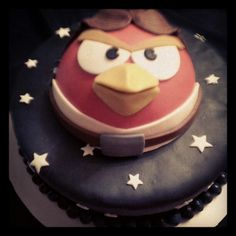 Star wars Angry birds cake by Hope Cookies & Cupcakes