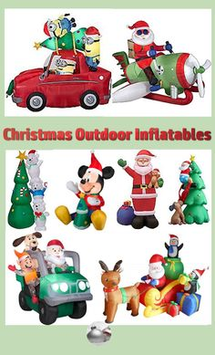 The great thing about outdoor decorations is that we have gone from simple light displays to a wide variety of Christmas outdoor inflatables that can really set your yard apart from everyone else on your street. Not only are these inflatables bright and i Christmas Bags, Christmas Gift Guide, Christmas Home, Christmas Holidays, Merry Christmas, Christmas Decorations For The Home, Birthday Decorations, Outdoor Decorations, Holiday Party Games