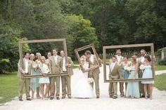 Minnesota barn wedding: DIY decor goes rustic chic - TODAY.com