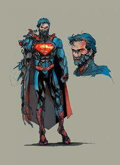 Superman Ciborgue vai voltar à DC Comics [ATUALIZADO]  Quadrinhos   Omelete