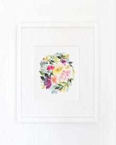 Incredible watercolor artist + designer