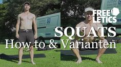 Freeletics / Squats / Squat Max - HowTo & Variationen Workout, Squats, Training, Fitness, Tips, Work Out, Squat, Work Outs, Excercise