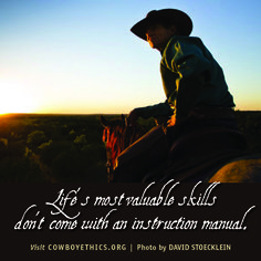 Cowboys, Cowgirls, www.cowboyethics.org