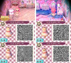 Très jolie petite robe pour Animal Crossing New Leaf ;)