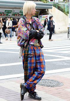 Tokyo street style.