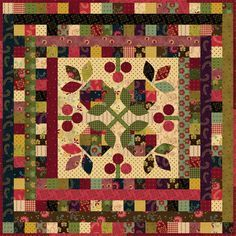 Midnight Blooms Quilt, free pattern for this Kim Diehl quilt ... : kim diehl quilt patterns - Adamdwight.com