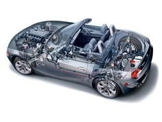 2002-2005 BMW Z4 3.0i Roadster (E85) - Illustration uncredited