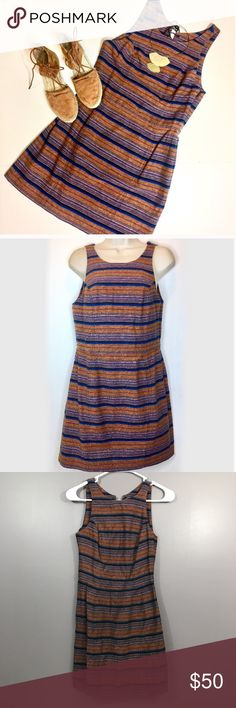 Dolce Vita • Colt Tweed Dress Adorable tween dress that's perfect for fall. Back has a cute out with lace up back. Excellent condition with mobile pull to dress as shown, only flaw. No trades. Dolce Vita Dresses