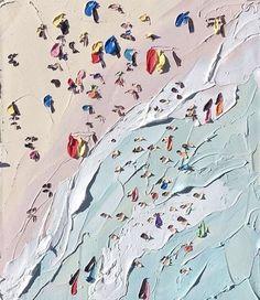 The Beach (detail) Sally West oil on canvas '16 http://ift.tt/2dOOUPb