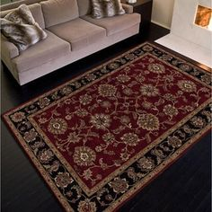 Shop for Hand-tufted Traditional Oriental Red/ Orange Rug (8' x 10'). Get free shipping at Overstock.com - Your Online Home Decor Outlet Store! Get 5% in rewards with Club O!