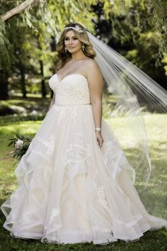 Country Wedding Dresses The Bride 6432 Pink Lace Plus Size Wedding Dress by Stella York.Country Wedding Dresses The Bride 6432 Pink Lace Plus Size Wedding Dress by Stella York Lace Wedding Dress, Best Wedding Dresses, Trendy Wedding, Modest Wedding, Diy Wedding, Wedding Ideas, Bridesmaid Dresses, Wedding Venues, Dream Wedding
