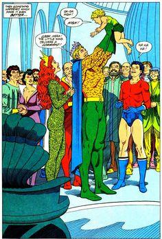 Legend of Aquaman #1 by Curt Swan