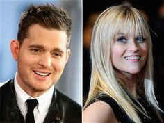 Michael Buble, Reese Witherspoon set to record duet - NBC News Entertainment- yay!