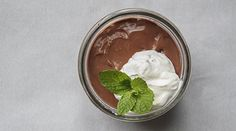 Chocolate Budino with Mint Whipped Cream  Recipe adapted from Maria Hines and Jason Brzozowy, Agrodolce, Seattle, Wash.