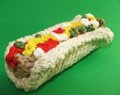 knitted food on Etsy, a global handmade and vintage marketplace.