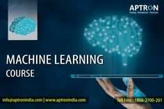 The best Machine Learning training institute in delhi provided by APTRON. Machine Learning Courses & Classes in Delhi deliver by APTRON Corporate trainers with Real time Projects Machine Learning Training, Machine Learning Course, Machine Learning Projects, Introduction To Machine Learning, Supervised Learning, Creer Un Site Web, Learning Techniques, Training And Development, Learning Courses