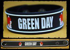 GREEN DAY Rubber Bracelet Wristband    21 Guns    White