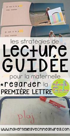 Lecture guidée - Utiliser la première lettre (prépare ta bouche avec la mouche) | maternelle | French guided reading | stratégies de lecture guidée