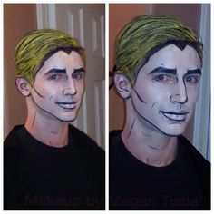 Pop art makeup! A fun look for guys on Halloween! I did this look on my little bro and everybody really liked it! :)