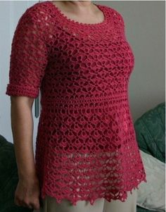 Delicate crocheted pullover. Discussion on LiveInternet - Russian Service Online Diaries