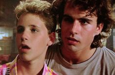 June 17: Jason Patric! Pictured here as Michael Emerson (with his on-screen brother, Sam, played by Corey Haim) in 'The Lost Boys' (1987).