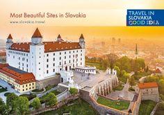 bratislavský hrad Beautiful Sites, Most Beautiful, Castles, Mansions, History, House Styles, Travel, Historia, Viajes
