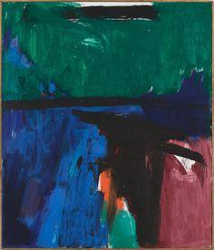 "Franz Kline ""Provincetown II"" (1959), oil on canvas, 93 x 79"
