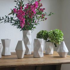 Are you interested in our geometric stoneware vase planter? With our vase for flowers plants you need look no further.