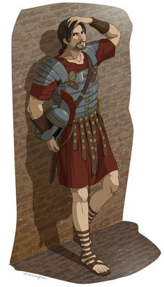 Ezio as a Roman Soldier--I liked this mission in Brotherhood.