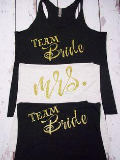 Team Bride II - Bulk Bridal Party Tank Tops