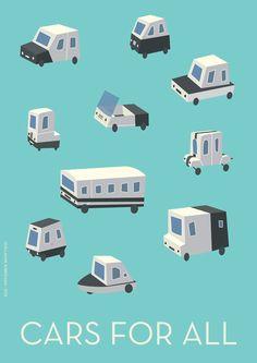The Big Meeting / Cars for all by Guillaume Kurkdjian, via Behance