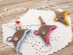 Egg Hat Bear Crochet Pattern Crochet Symbols, Crochet Chart, Easy Crochet Patterns, Easter Crochet, Crochet Bebe, Crochet For Kids, Reverse Single Crochet, Double Crochet, Crab Stitch