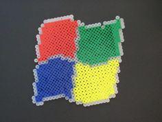 Windows logo Perler bead - DIY
