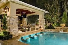 Image result for simple swimming pool landscaping