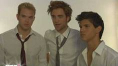 The Guys of Twilight - Behind the Scenes - YouTube