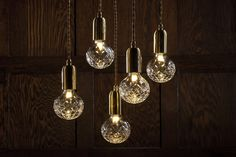 [L'objet du désir] Les lampes bulbes en cristal de Lee Broom