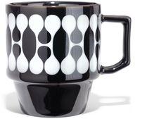 House Industries + Hasami : Black Mug