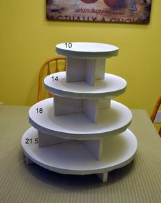How To: Cake and Cupcake Stand
