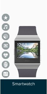 Shop Fitbit Ionic Health & Fitness Smartwatch (GPS) with Heart Rate, Swim Tracking & Music - Black (Charcoal)/Smoke Grey. Fitness Activity Tracker, Fitness Activities, Fitness Tracker, Fitbit App, Fitbit Charge, Burn Calories, Smart Watch, Health Fitness, Amazon