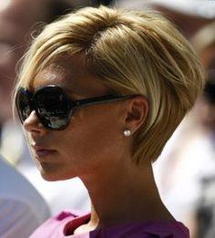 Victoria Beckham's short haircut
